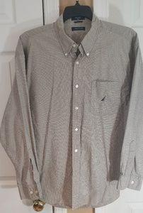 Nautica men's button down L/S shirt